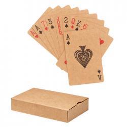 Baraja cartas papel reciclado Aruba +