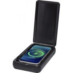 Desinfectante UV para smartphone con batería externa inalámbrica de 10000mah Nucleus