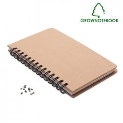 Libreta pino Grownotebook™