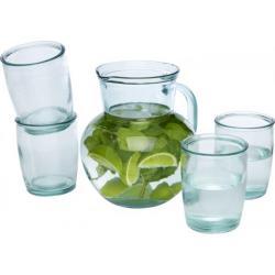 Set de 5 vasos de vidrio reciclado Terazza