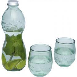 Set de 3 vasos de vidrio reciclado Brisa
