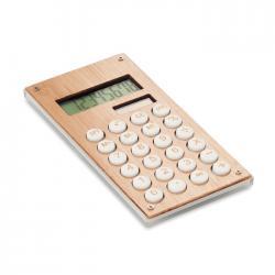 Calculadora bambú de 8 dígitos Calcubam