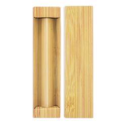 Estuche 2 pcs finish bambu