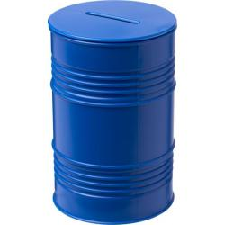 Hucha con forma de barril de petróleo Banc