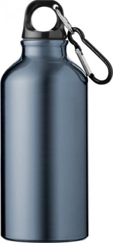 Cantimplora aluminio 400ml con mosquetón Oregon
