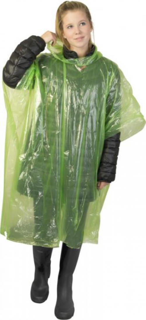 Poncho de lluvia 120x90cm con funda Ziva
