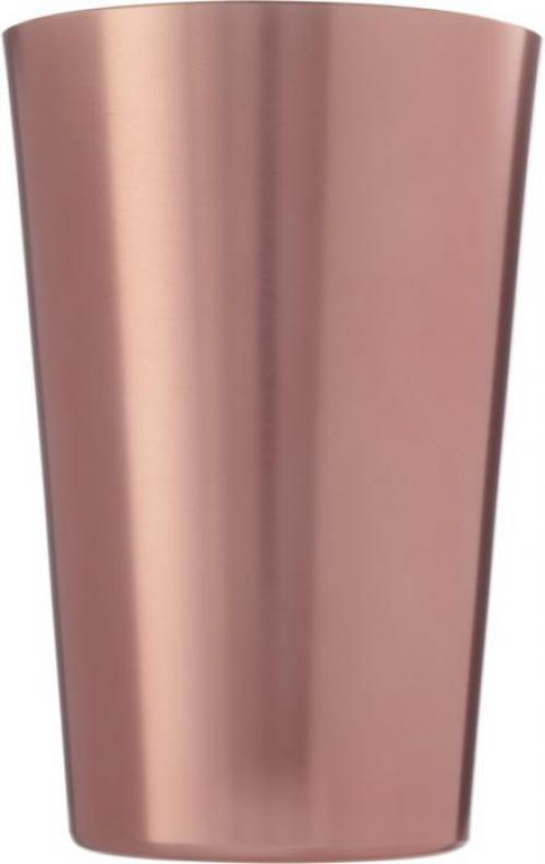 Vaso con acabado de cobre Glimmer