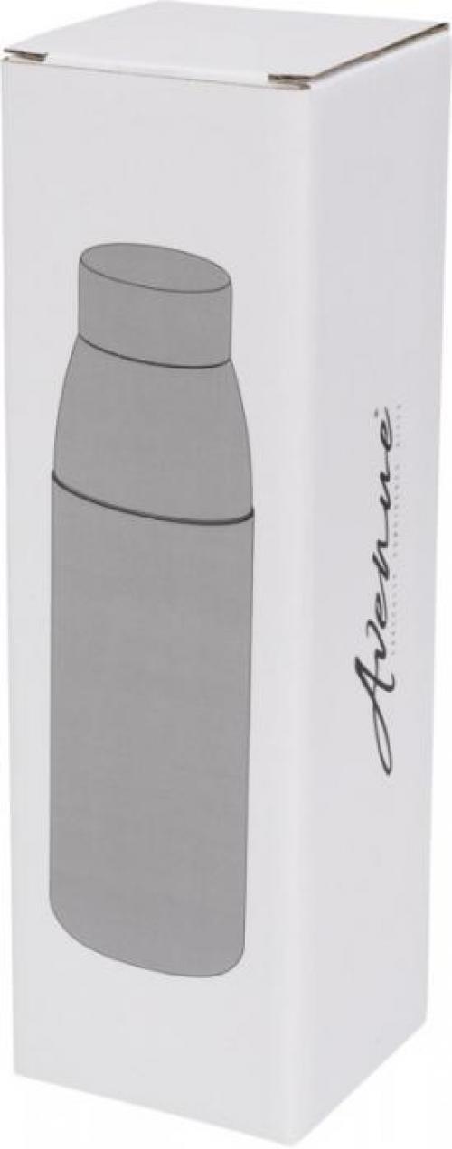 Botella de vidrio 540ml y tapón de bambú Kai