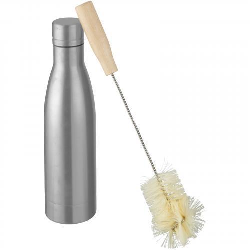 Botella con aislamiento de cobre al vacío con cepillo Vasa