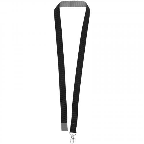 Lanyard bicolor con cierre de velcro Aru Ref.PF102208
