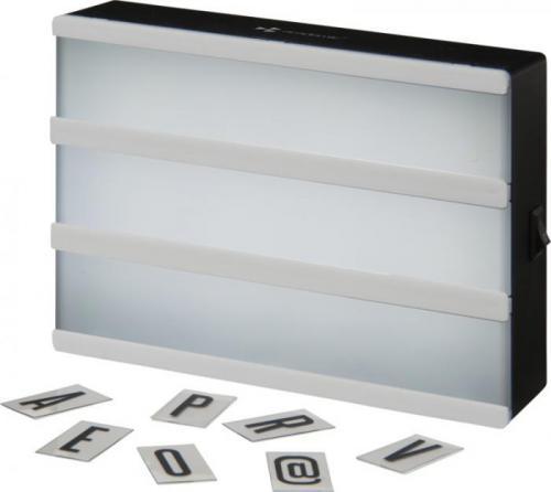 Caja con luz The cinema