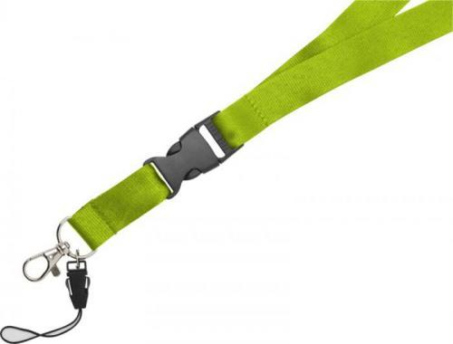 Lanyardde 20mm con hebilla separable y soporte para móvil Sagan
