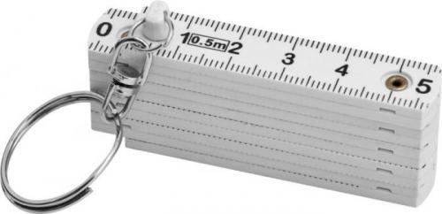 Llavero con regla plegable de 0,5m
