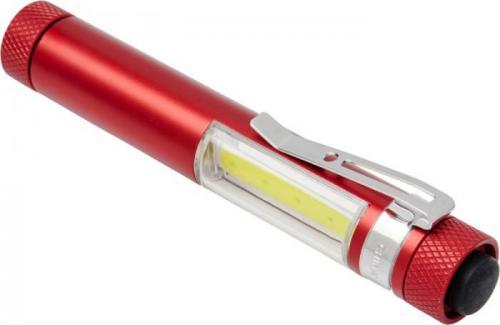 Linterna COB de bolsillo con clip y base magnética Stix