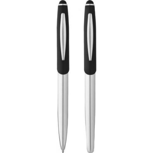 Set de bolígrafo-puntero y rollerball Geneva