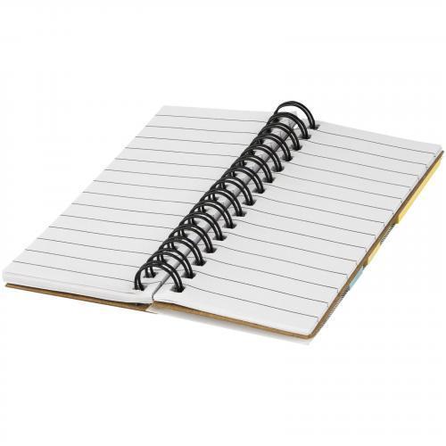 Libreta de notas adhesivas Spiral
