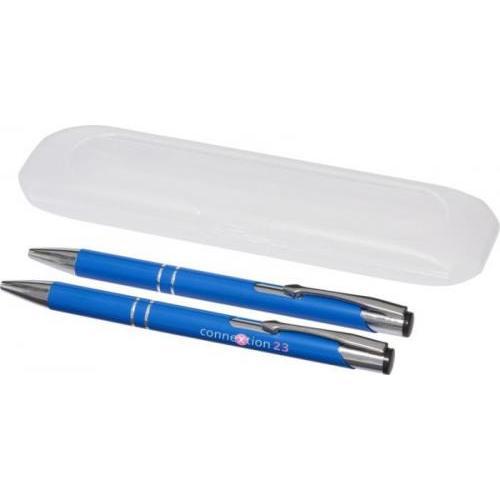 Set de bolígrafo y portaminas Belfast