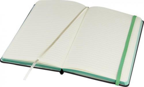 Libreta de tela borde página de color Frappé