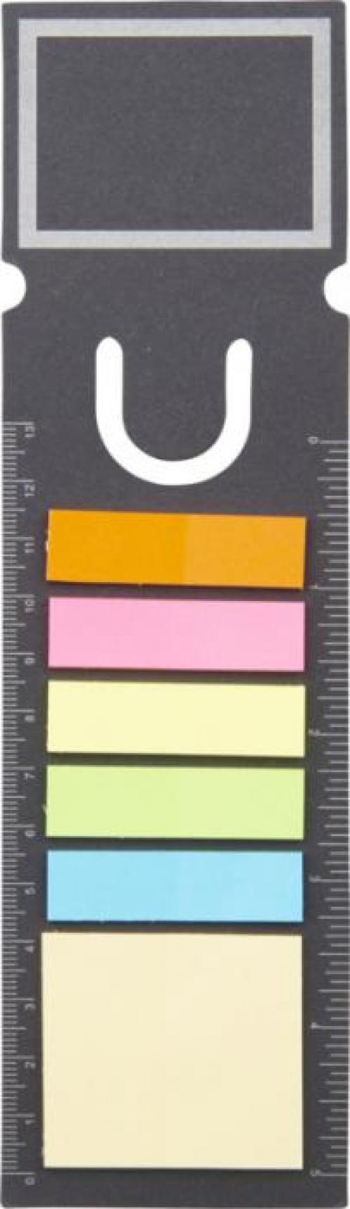 Marcador de libro con notas adhesivas Sticky