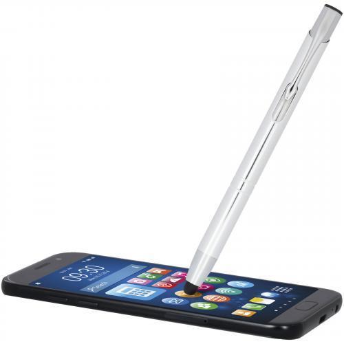 Bolígrafo de aluminio con punta stylus Olaf