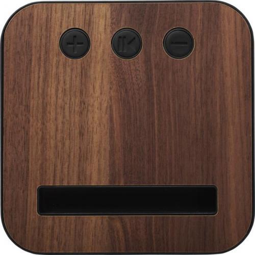 Altavoz bluetooth® de madera y tela Shae