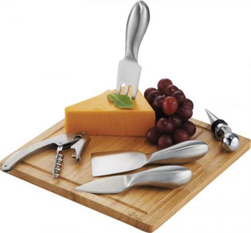 Conjunto para vino y queso Mino