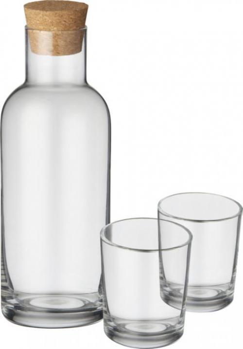 Set de botella y vasos Lane