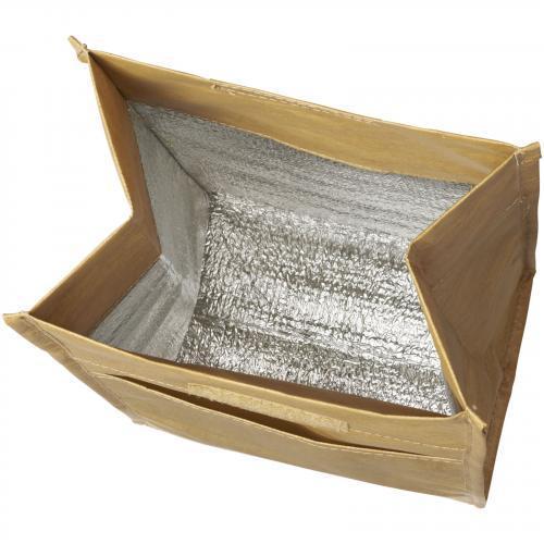 Bolsa isotérmica similar a bolsa de papel Brown paper