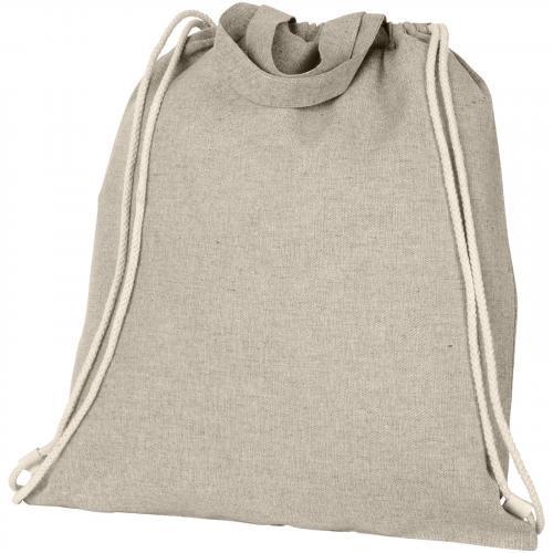 """Mochila de cuerdas con asas de algodón reciclado de 150 g/m """"pheebs"""""""
