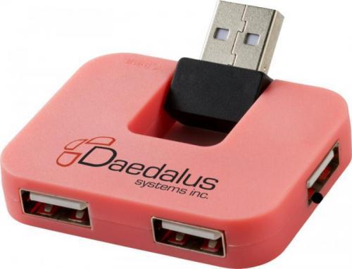 Hub USB de 4 puertos Gaia