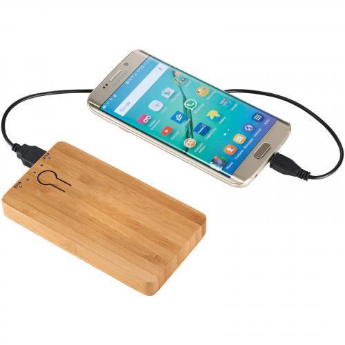 Batería externa bamboo PB-5000mAh