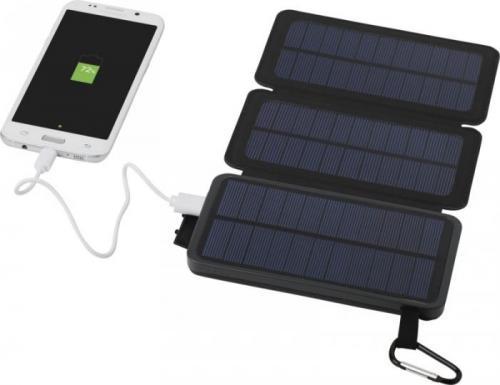 Batería externa solar con 2 paneles 8000 mAh Cosmic