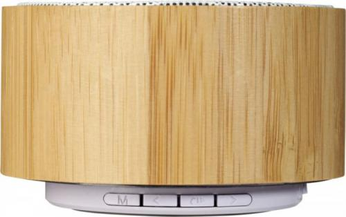 Altavoz bluetooth® de bambú Cosmos