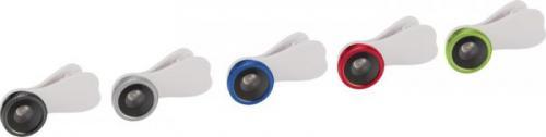 Lente para móviles con clip Fisheye