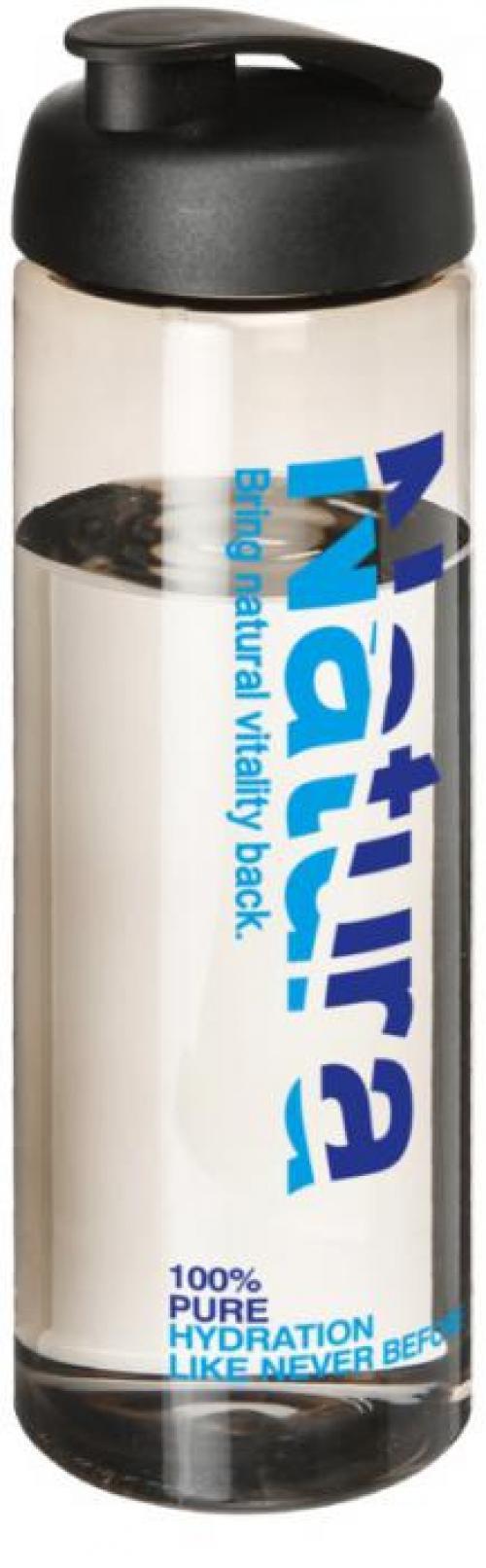 Bidón deportivo con tapa flip de 850 ml H2O vibe