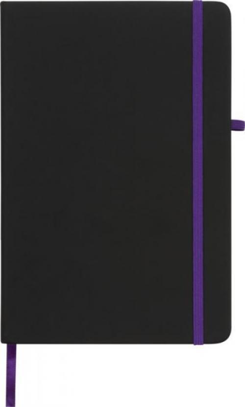 Libreta a5 de tacto suave Noir medium