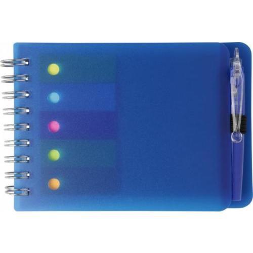 Libreta de bolsillo con bolígrafo y notas adhesivas Kent