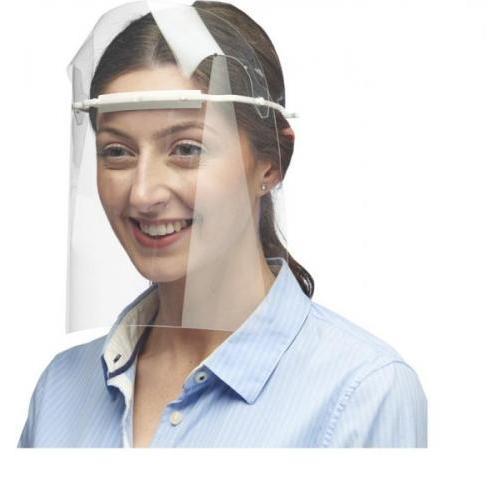 Visor de protección facial - largo