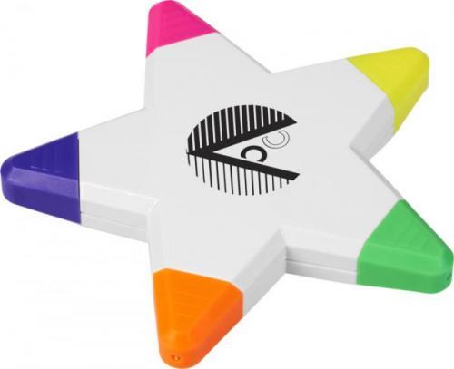 Marcador fluorescente estrella Solvig