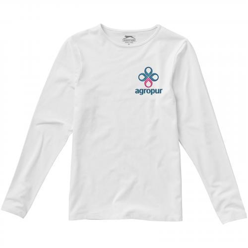 Camiseta de manga larga de mujer curve