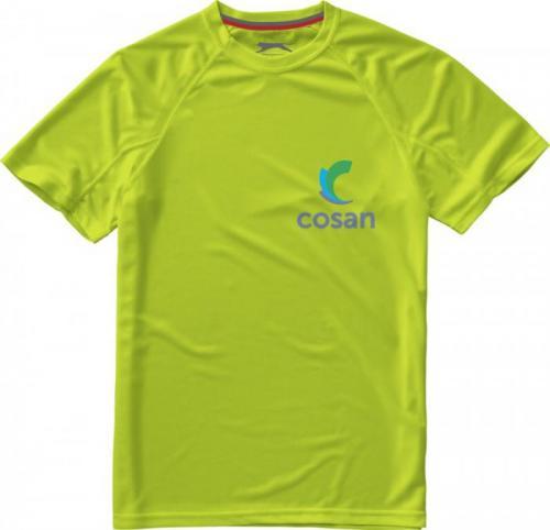 Camiseta cool fit de manga corta de hombre serve