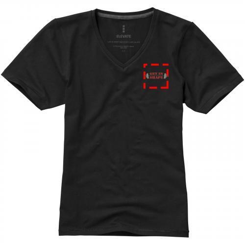 Camiseta de manga corta ecológica de mujer kawartha  Ref.PF38017