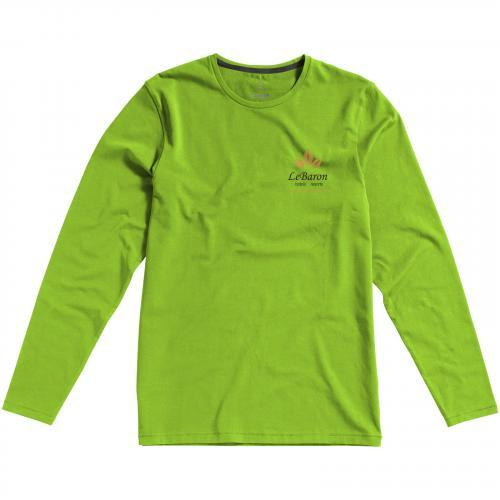 Camiseta de manga larga ecológica de hombre ponoka  Ref.PF38018