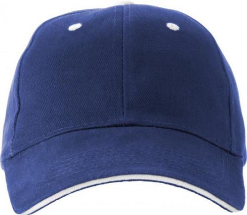 Gorra de béisbol 6 paneles Brent