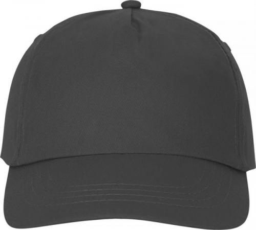 Gorra de algodón de 5 paneles con refuerzo y cierre adherente Feniks