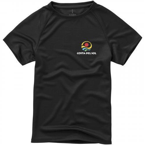 Camiseta cool fit de manga corta de niño niagara