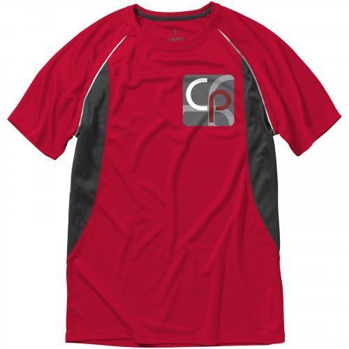 Camiseta cool fit de manga corta de hombre quebec