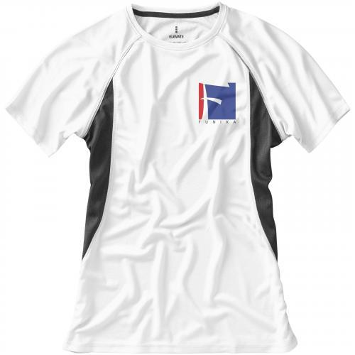 Camiseta cool fit de manga corta de mujer quebec