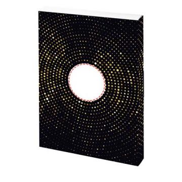 Digital paper sleeve DPS02-Black-gold sleeve