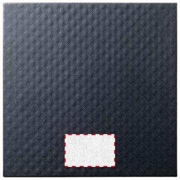 Gota de resina DOM001-Placa metálica de la caja